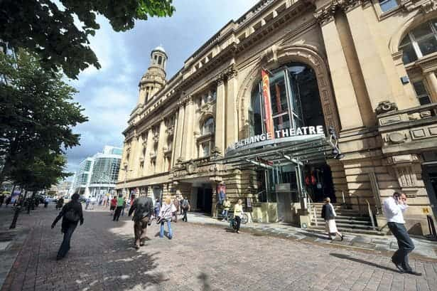 Here you can view the exterior of the Manchester Exchange Theatre