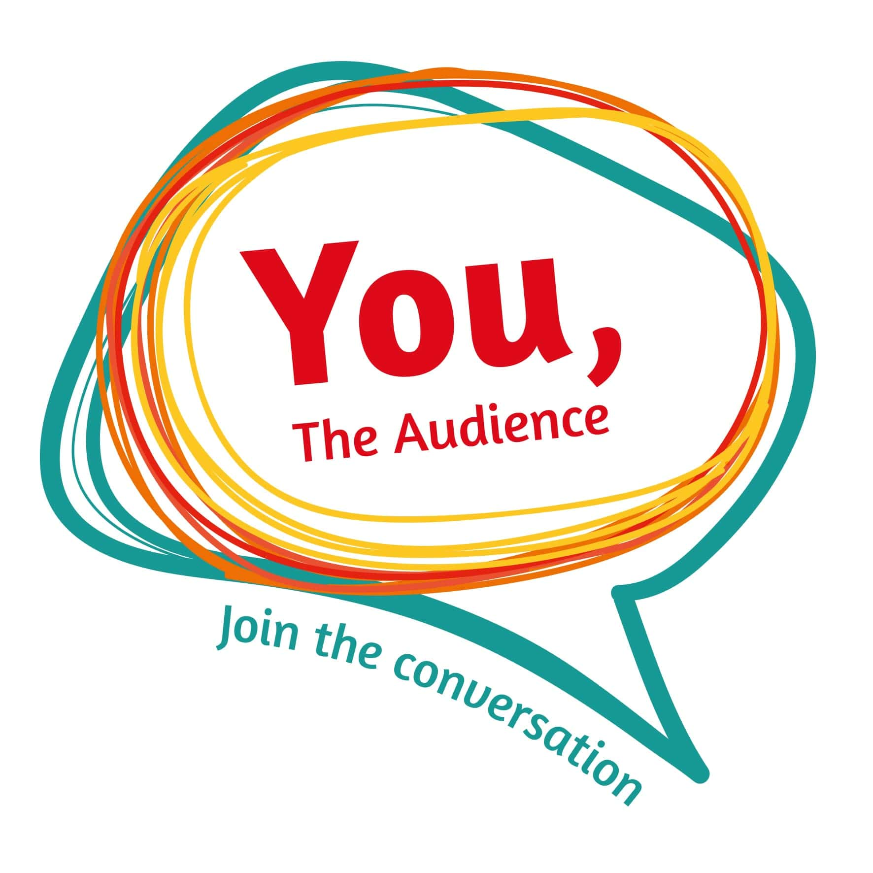 you the audience logo