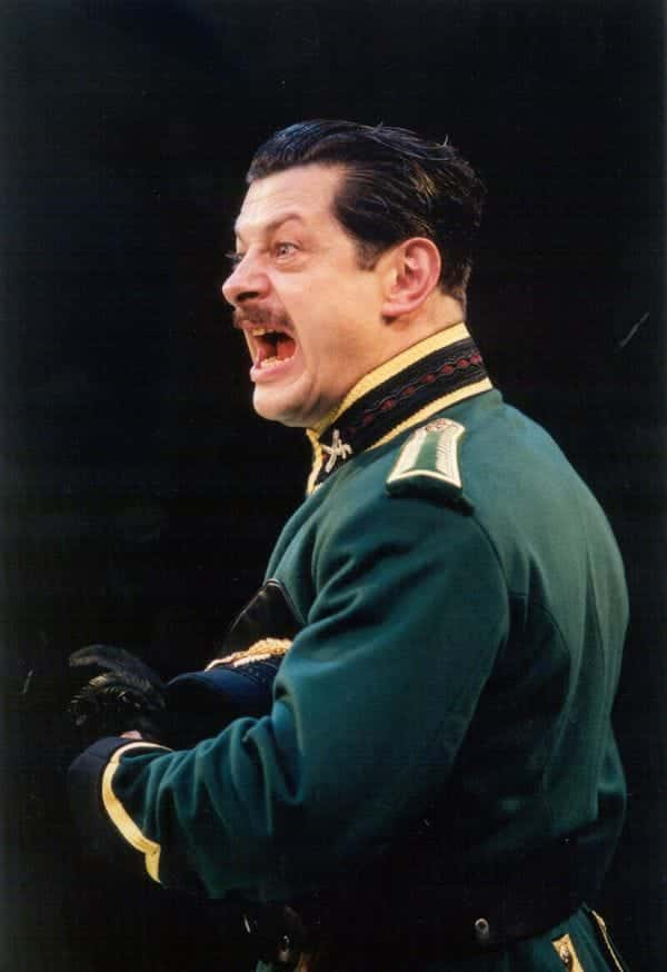 Andy Serkis as Iago in OTHELLO 2001 Photo by Jonathan Keenan