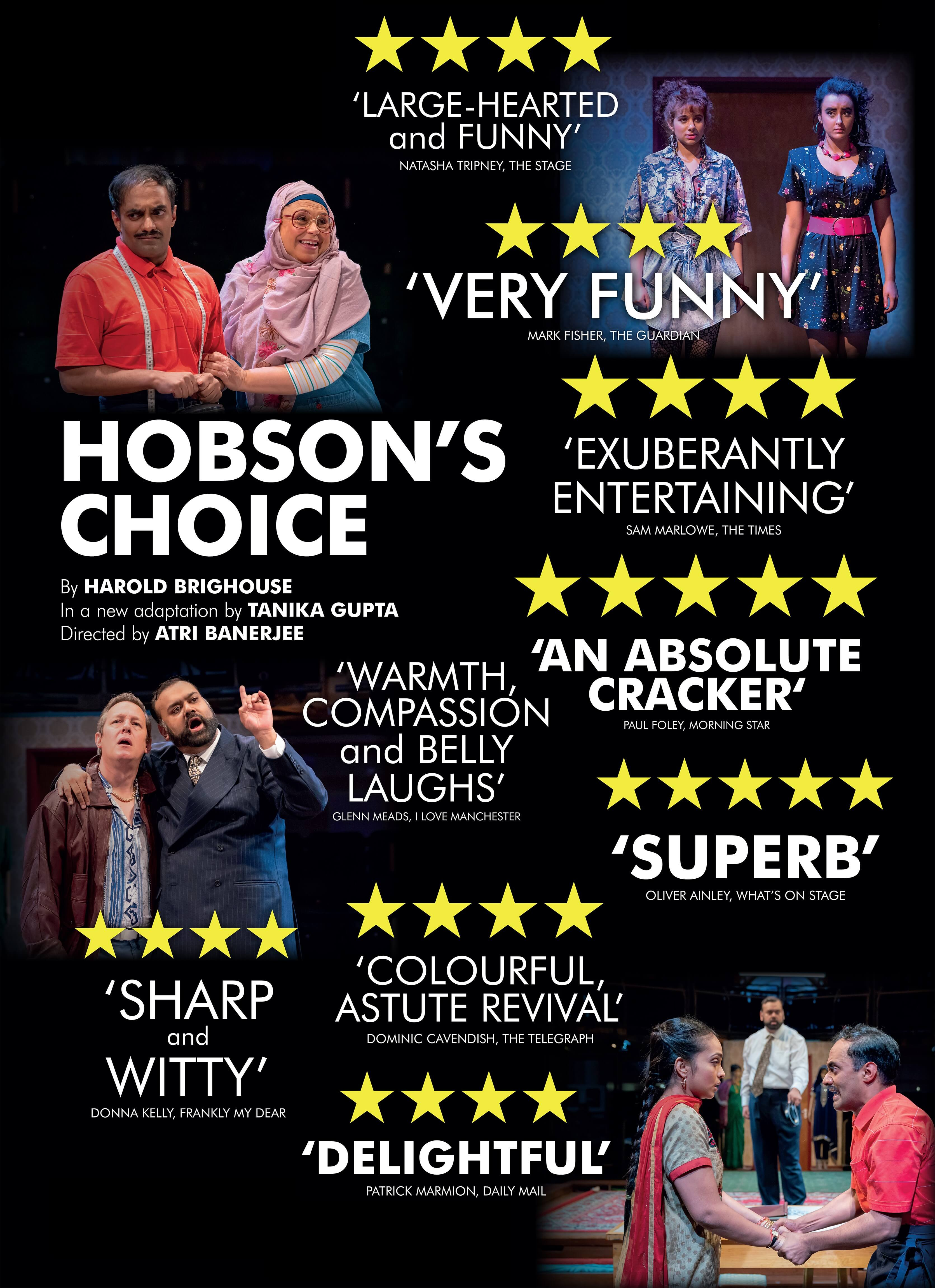 Hobson's Choice Quotes Poster