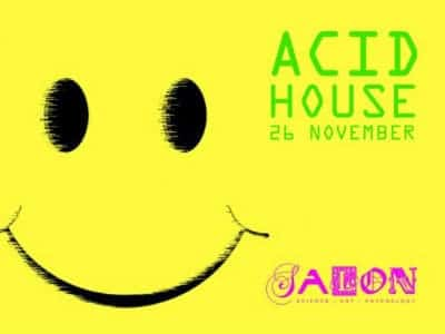 Event listings for Acid house production