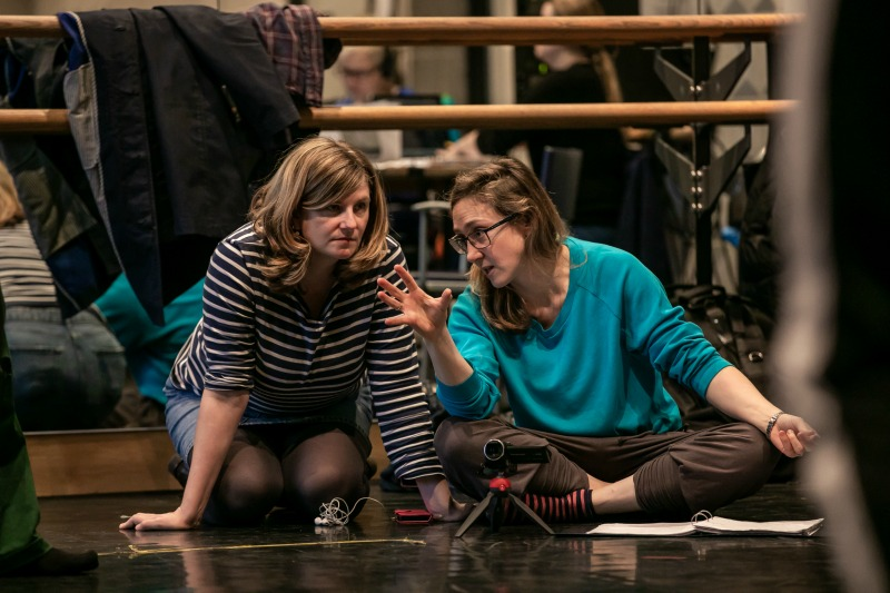 Image of Mother Courage Rehearsal, Royal Exchange Theatre