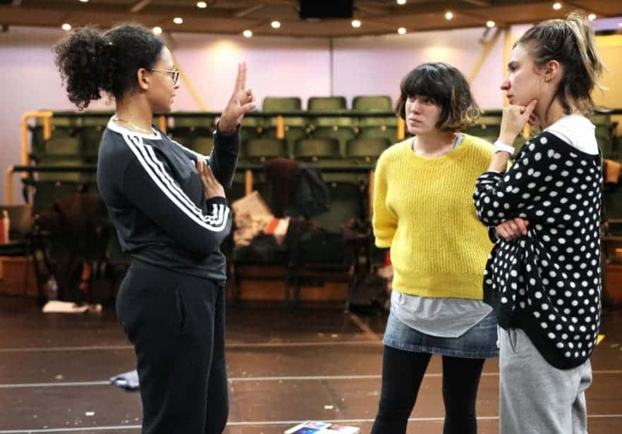 Parliament Square Rehearsals Image, Royal Exchange Theatre