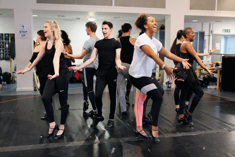 The Producers Rehearsals Image, Royal Exchange Theatre