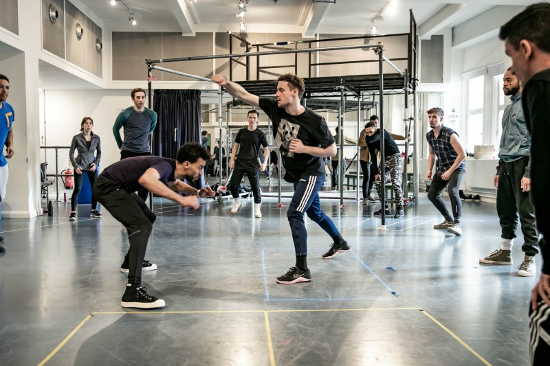 West Side Story Rehearsal Image, Royal Exchange Theatre