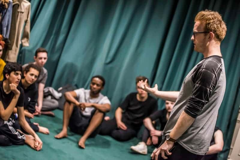 Young Company Rehearsal, Royal Exchange Theatre