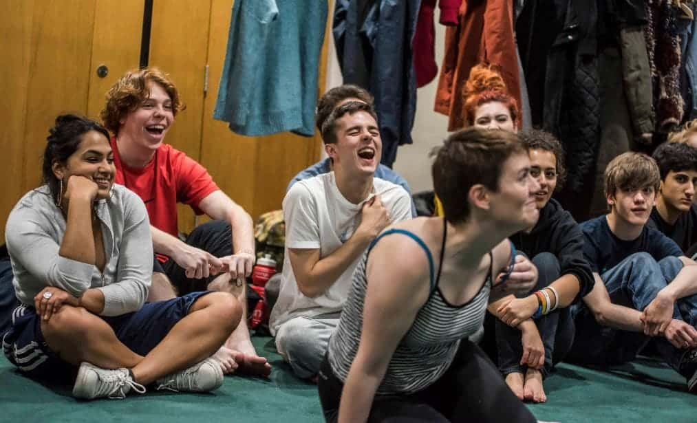 Young Company Rehearsals 2017 Image, Royal Exchange Theatre